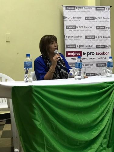 Tuñez estuvo recientemente en Garín, con una charla con la misma temática.