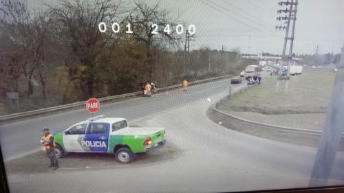 El nuevo y moderno móvil policial toma imágenes que luego sirven para sumar a la investigación.