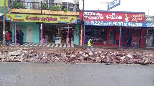 Comenzaron arreglos en Tapia de Cruz  y Moreno.